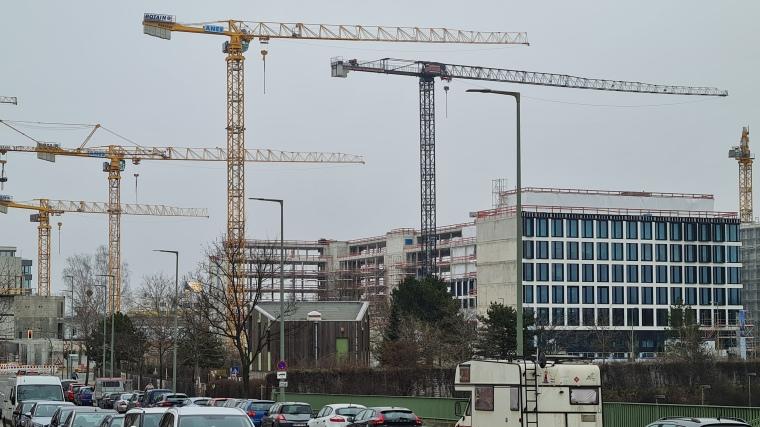 Baustellen Berlin Südkreuz